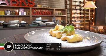 Bignole dolci con crema pasticcera - Alessandro Borghese Kitchen Sound - Rural Glam