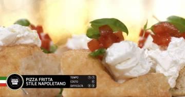 PIZZA FRITTA STILE NAPOLETANO - Alessandro Borghese Kitchen Sound - Pane e pizza