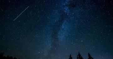 Pioggia di stelle cadenti a partire da questa sera: ecco quando ammirarle