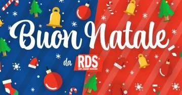 Buon Natale da RDS: gli auguri dei conduttori a tutti voi!