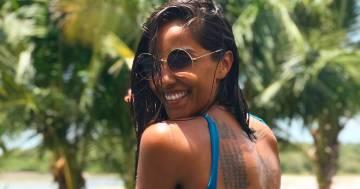 Juliana Moreira è stupenda, la foto in costume fa innamorare i fan