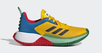 Ecco la nuova collezione di Adidas dedicata ai mattoncini Lego
