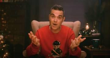 """Robbie Williams ha pubblicato """"Can't Stop Christmas', la sua nuova canzone di Natale"""