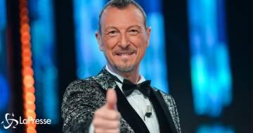 Festival di Sanremo: Amadeus annuncia chi sarà al suo fianco