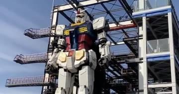 Finalmente Gundam muove i primi passi!