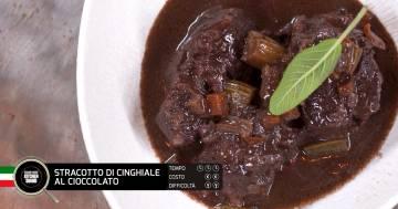 Stracotto di cinghiale al cioccolato - Alessandro Borghese Kitchen Sound - Cioccolato inaspettato