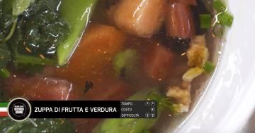 Zuppa di frutta e verdura - Alessandro Borghese Kitchen Sound - Green