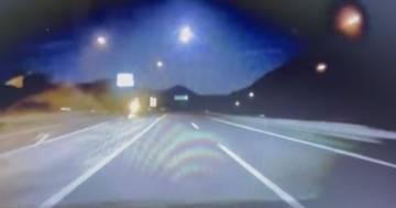 Il passaggio del meteorite illumina il cielo del Giappone: il video è spettacolare