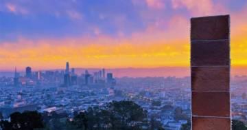 Il mistero continua: apparso a San Francisco un monolite fatto in pan di zenzero