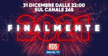 'Finalmente 2021': passa il tuo Capodanno in compagnia di RDS