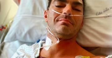 Gabry Ponte rassicura i fan dopo l'operazione al cuore, ecco la prima foto su Instagram