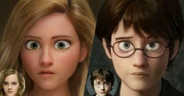 Ecco come sarebbero i personaggi di Harry Potter in un film di animazione