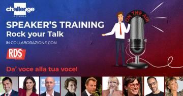 RDS e Challenge Network lanciano 'Rock your Talk': il progetto per imparare a comunicare meglio