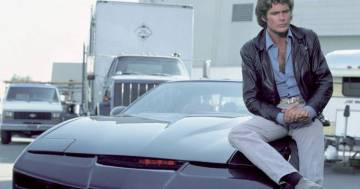 David Hasselhoff ha messo all'asta K.I.T.T. di Supercar