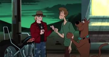 Axl Rose ha partecipato ad una puntata speciale di  Scooby Doo