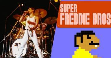 Super Freddie Bros: il nuovo videogioco dedicato al leader dei Queen