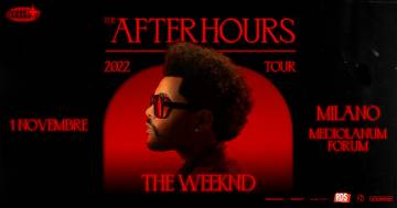 "The Weeknd ha annunciato l'unica data italiana del suo ""After Hours World Tour"""