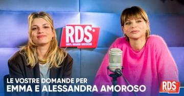 'Pezzo di cuore': Emma e Alessandra Amoroso raccontano il viaggio di due grandi amiche