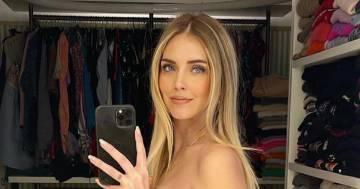 Chiara Ferragni in topless per la 37esima settimana di gravidanza: la reazione dei follower