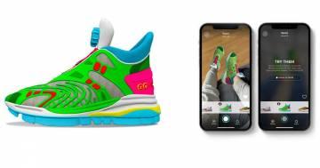 Gucci lancia le sue prime scarpe virtuali: costano 12 dollari e si indossano solo online