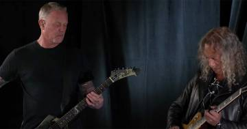 Ecco come i Metallica hanno reinterpretato l'inno americano