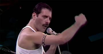 Il concerto dei Queen al Live Aid è il più popolare di tutta la storia del rock