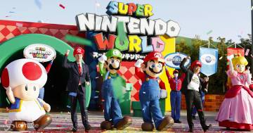 Super Nintendo World: apre il parco giochi in Giappone