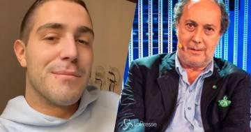 Tommaso Zorzi  querela Fulvio Abbate: 'Stai sfogando la tua frustrazione su di me'