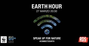 Earth Hour 2021: la challenge di WWF per aiutare il pianeta. RDS sarà radio partner dell'evento