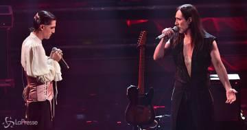 Manuel Agnelli e i Maneskin portano il rock a Sanremo: la loro esibizione è spettacolare