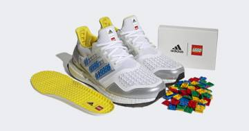 Correre in stile Lego: Adidas rilegge le sue Ultraboost con i mitici mattoncini