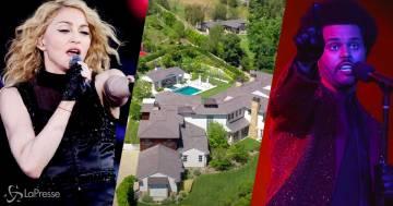 Madonna ha comprato la villa di The Weeknd a Los Angeles: ecco le immagini