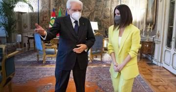 L'orgoglio di Laura Pausini dopo essere stata ricevuta dal presidente Mattarella