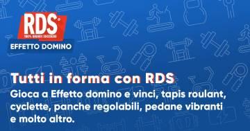 Effetto Domino: Tutti in forma con RDS!