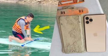 Perde il suo iPhone nel lago, lo ritrova un anno dopo e funziona ancora