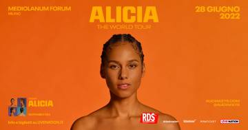Alicia Keys ha annunciato l'unica data italiana del suo nuovo tour mondiale