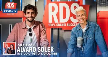 Alvaro Soler a RDS canta la prima versione di 'Magia' con #ipeggiopiupeggiodiRDS