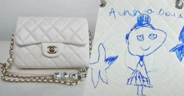 La figlia disegna sulla borsa di Chanel da 2500 euro: ecco la reazione della mamma