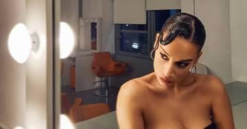 Francesca Tocca e le seducenti foto nel camerino di Amici