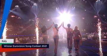 Eurovision 2021: l'annuncio della vittoria dei Maneskin è da brividi