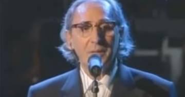 Franco Battiato: quando incantò Sanremo cantando 'La Cura'