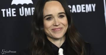 Ellen Page è ora Elliot Page e condivide la sua prima foto a bordo piscina