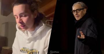 Madame omaggia Franco Battiato con una sua versione de 'La Cura'