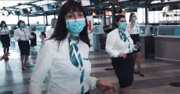 """Il personale dell'aeroporto di Malpensa balla sulle note di Jerusalema: """"Orgogliosi di ripartire"""""""