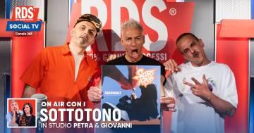 """I Sottotono a RDS cantano la prima versione di """"Mastroianni"""" con #IPeggioPiùPeggioDiRDS"""