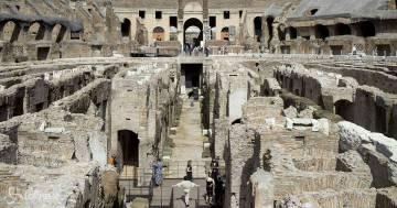 Colosseo: apre al pubblico il nuovo percorso degli Ipogei, ecco le foto