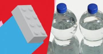 Lego presenta i suoi primi mattoncini in plastica riciclata