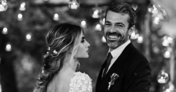 Tutta la felicità di Luca Argentero e di Cristina Marino nelle nuove foto del loro matrimonio