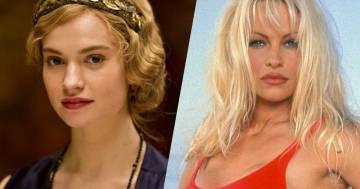 Lily James sarà Pamela Anderson nella serie tv sulla sua vita: ecco le prime foto dal set