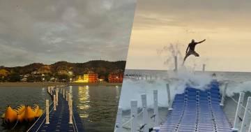 L'incredibile ponte in Perù che si muove seguendo le onde del mare: ecco il video